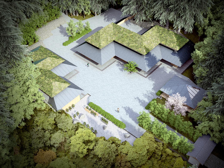 Architect Kengo Kuma S Plans For The Portland Japanese Garden Opb