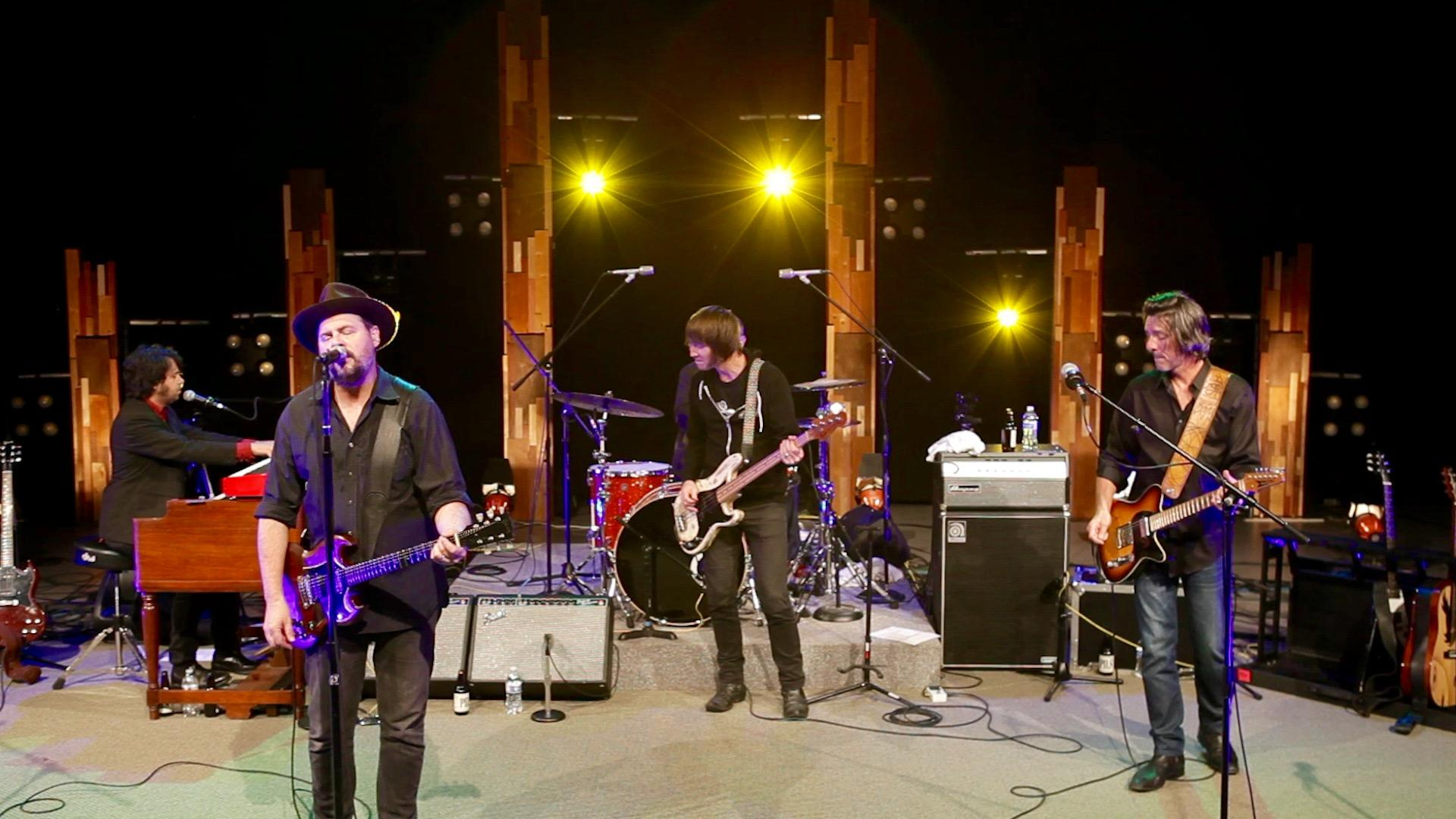 Drive-By Truckers performing live at OPB in Portland, OR.