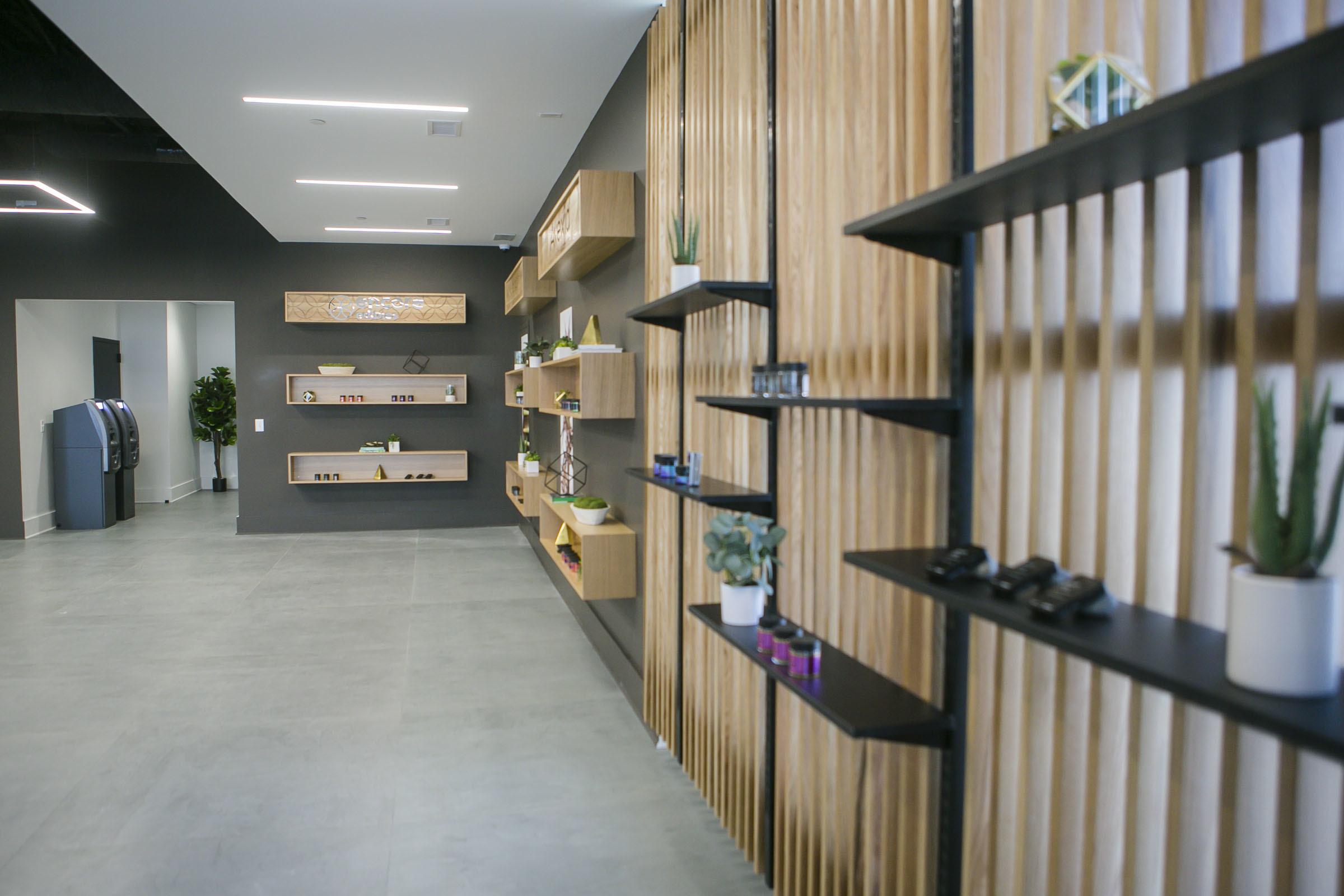 Zen Leaf's dispensary.