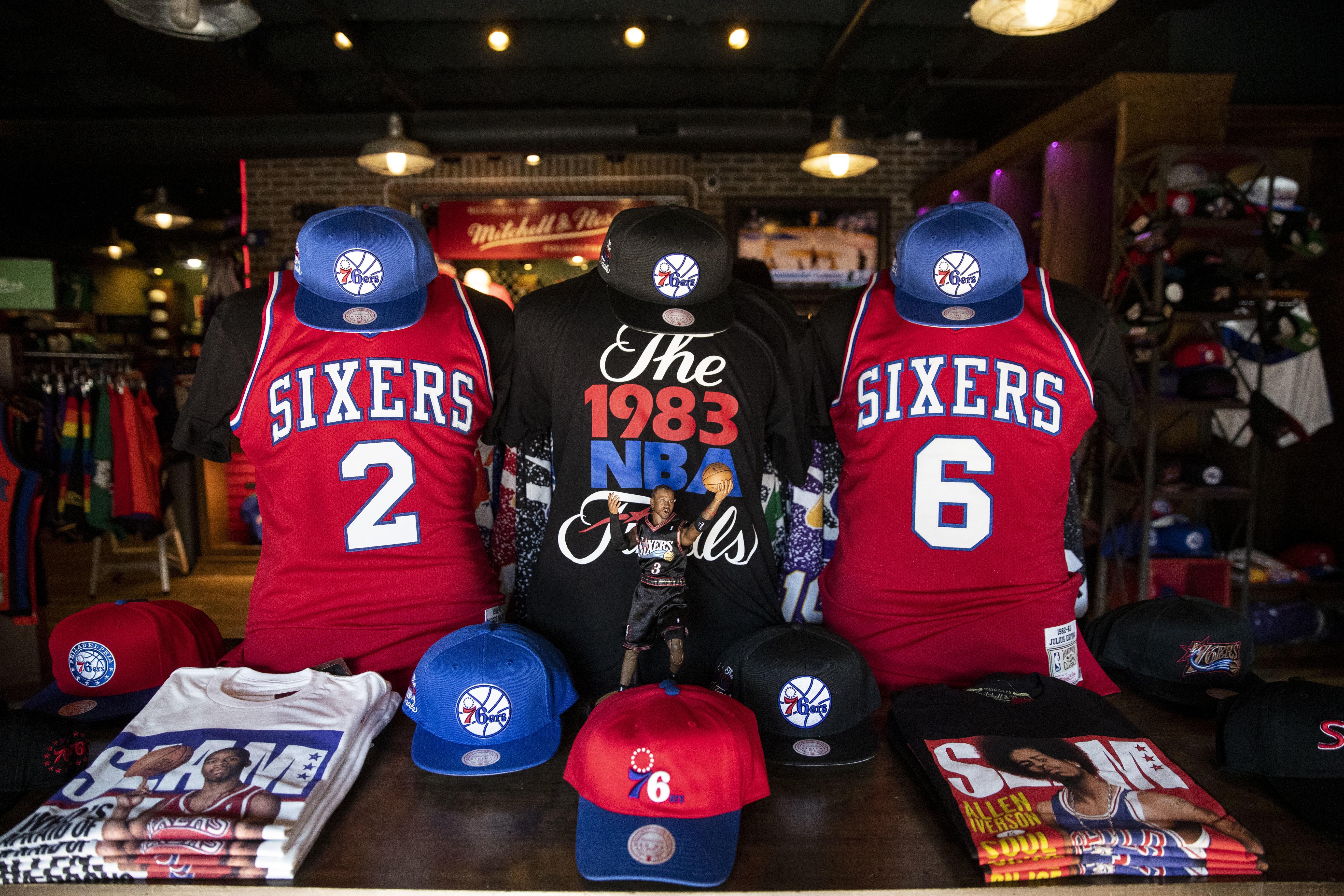 Best places to buy Sixers gear in Philadelphia