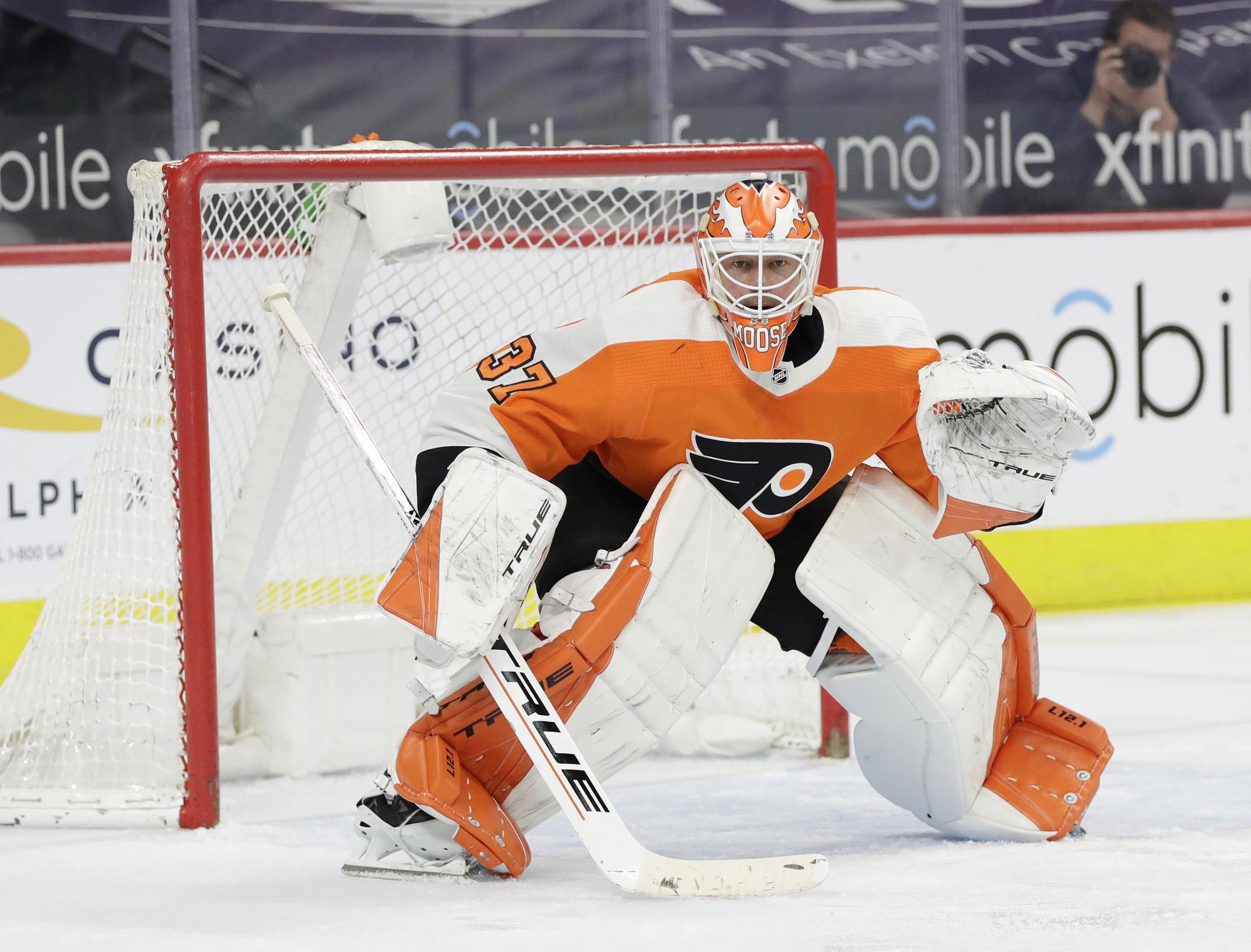 Brian Elliott Philadelphia Flyers Player Swingman Jersey