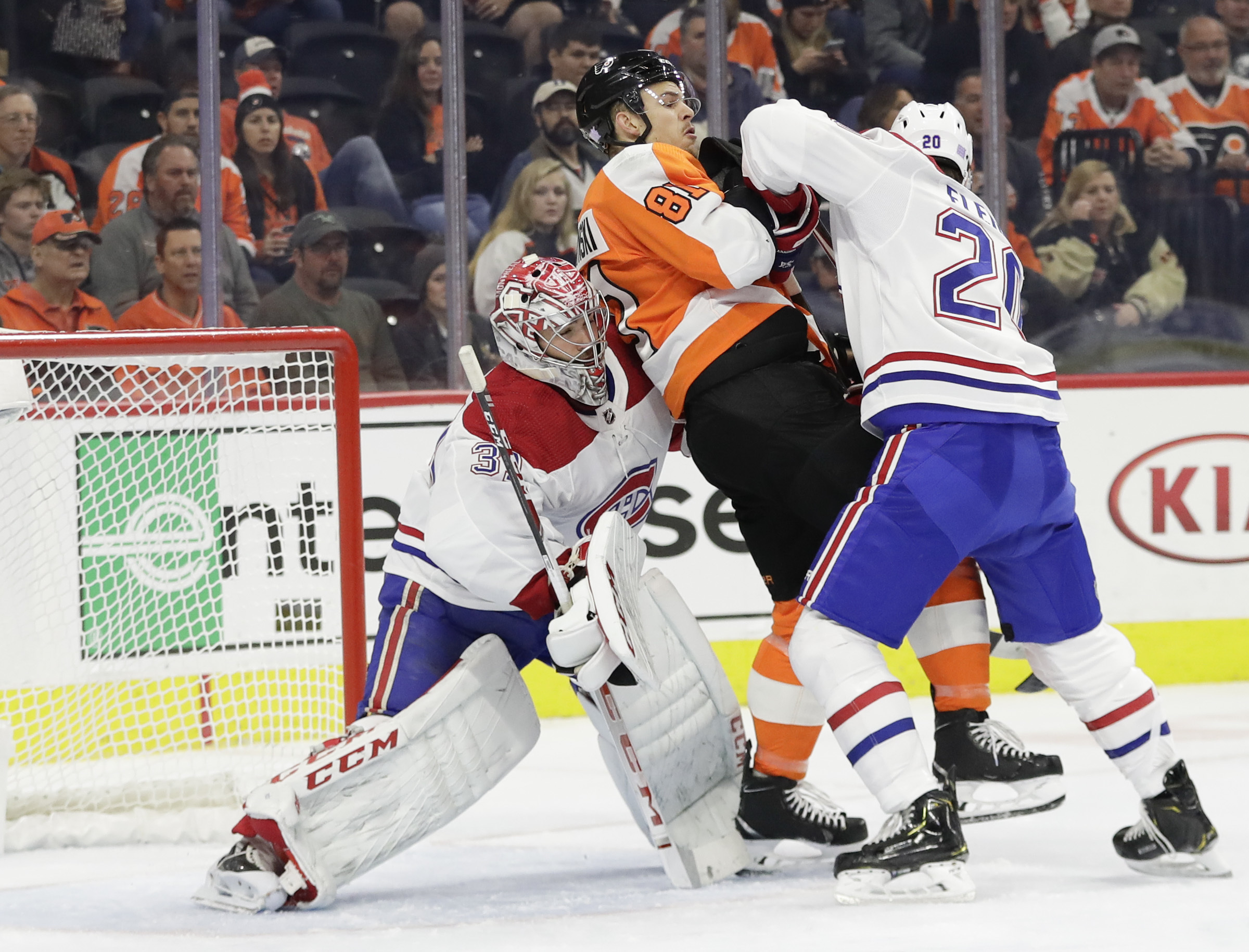 Flyers Canadiens Game 1 In Toronto Tv Time Odds Notes