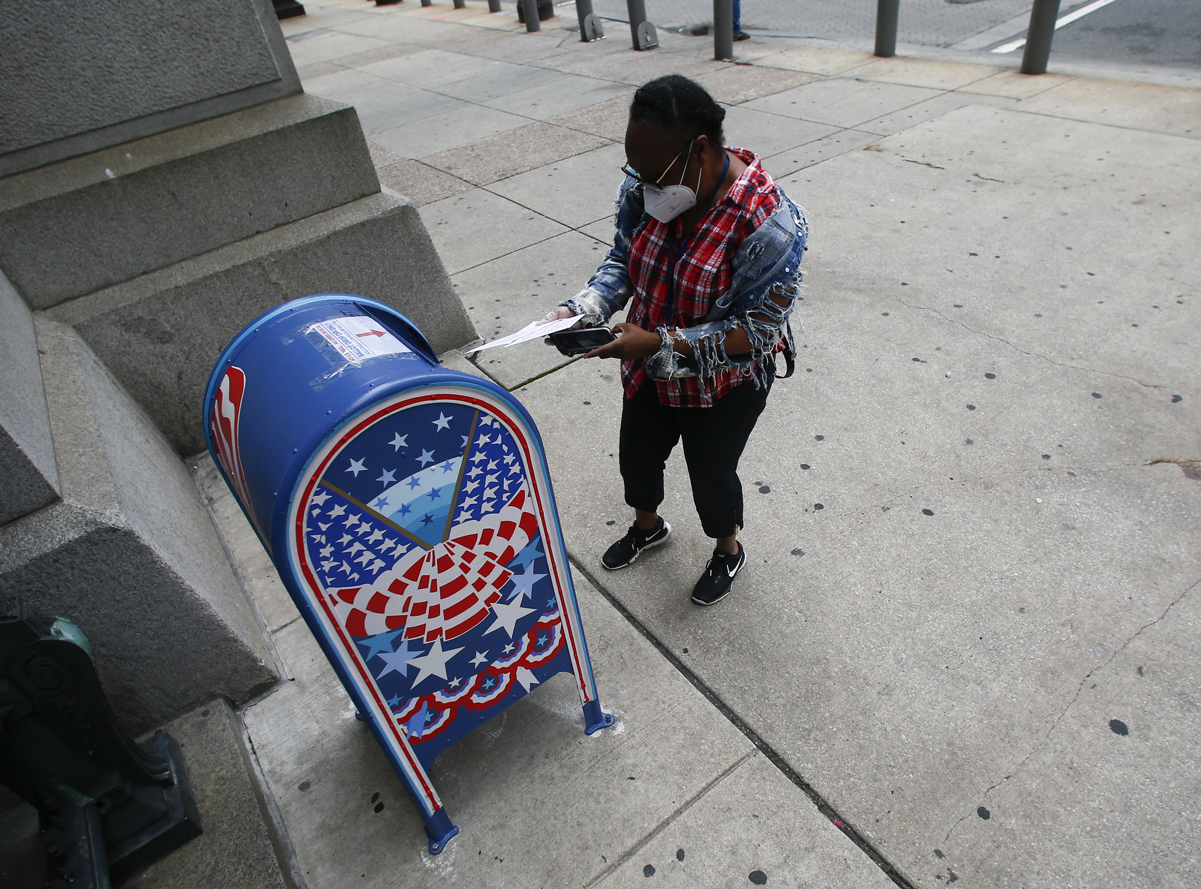 Philadelphia Mail Ballot Drop Boxes To Collect Votes For 2020 Pa Primary