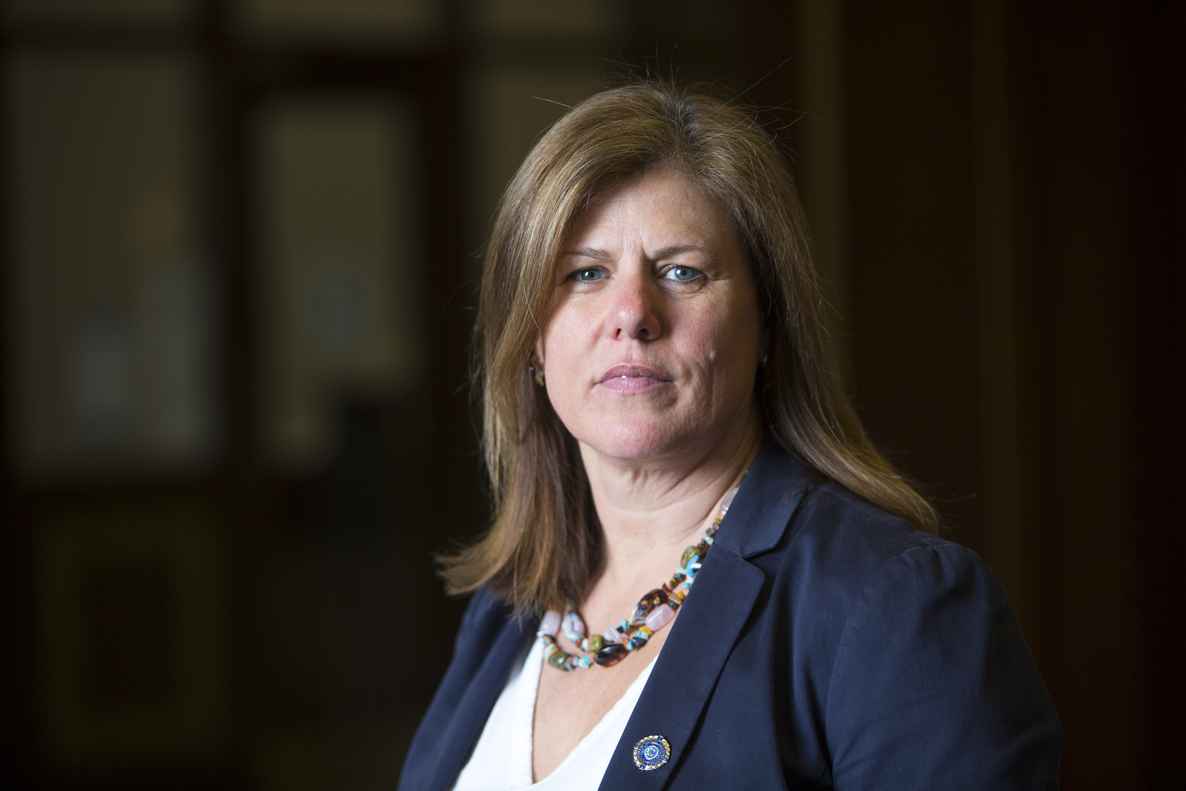 Patricia Cummings, chief of the Conviction Integrity Unit at the Philadelphia District Attorney's Office in 2018.