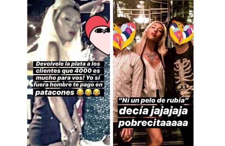 "Cansada de las críticas, Sofía Bonelli le contestó a Mariana Nannis: ""Está desesperada"""