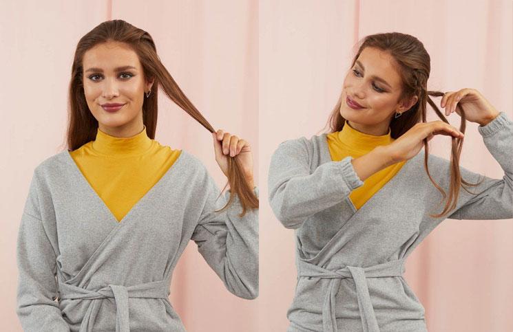 Trenza vincha: cómo hacer este peinado elegante y muy fácil