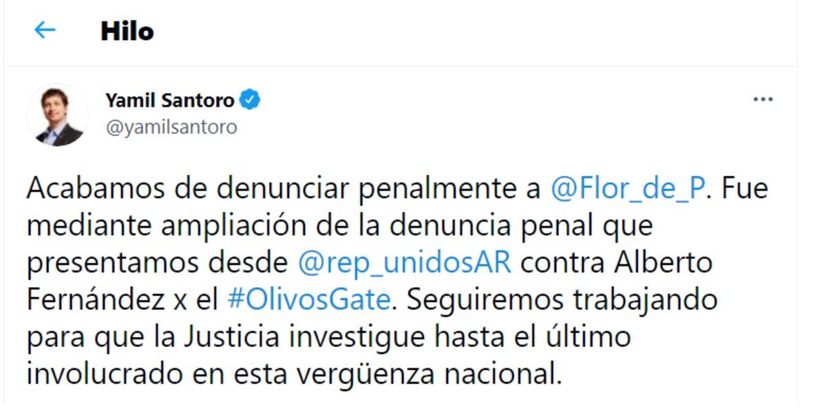 Denunciaron penalmente a Florencia Peña en la Justicia  por su visita a Alberto Fernández en plena cuarentena