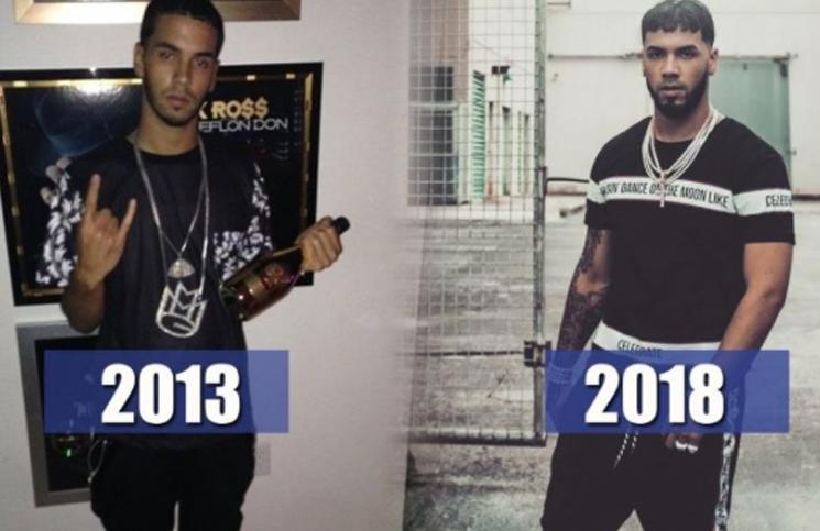 Están irreconocibles: el antes y después de Karol G, Anuel AA, Nicky Jam, Natti Natasha y Becky G