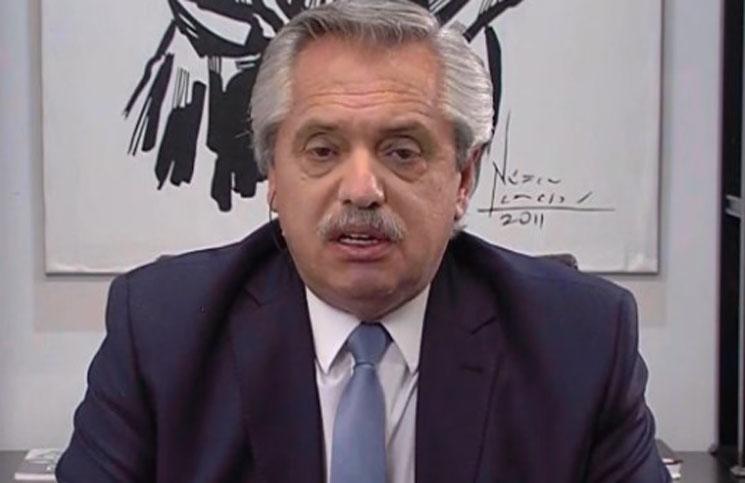 """Alberto Fernández: """"Hay un sector de la política argentina que exacerbar el odio le sirve"""""""