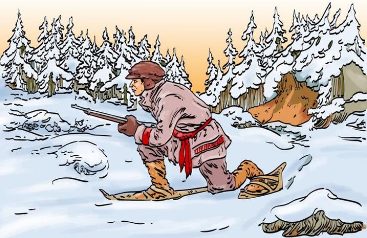 Este reto visual (muy difícil) desafía a encontrar el animal que acecha al cazador en 30 segundos