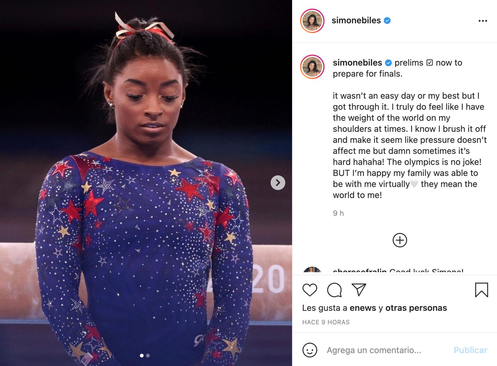 Juegos Olímpicos Tokio 2021: ¿En qué lugar quedó Simone Biles?