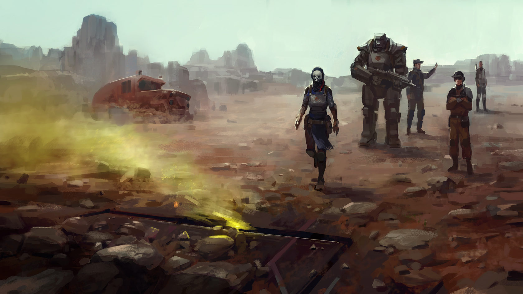 Encased: A Sci-fi Post Apocalyptic RPG review reseña PC fallout