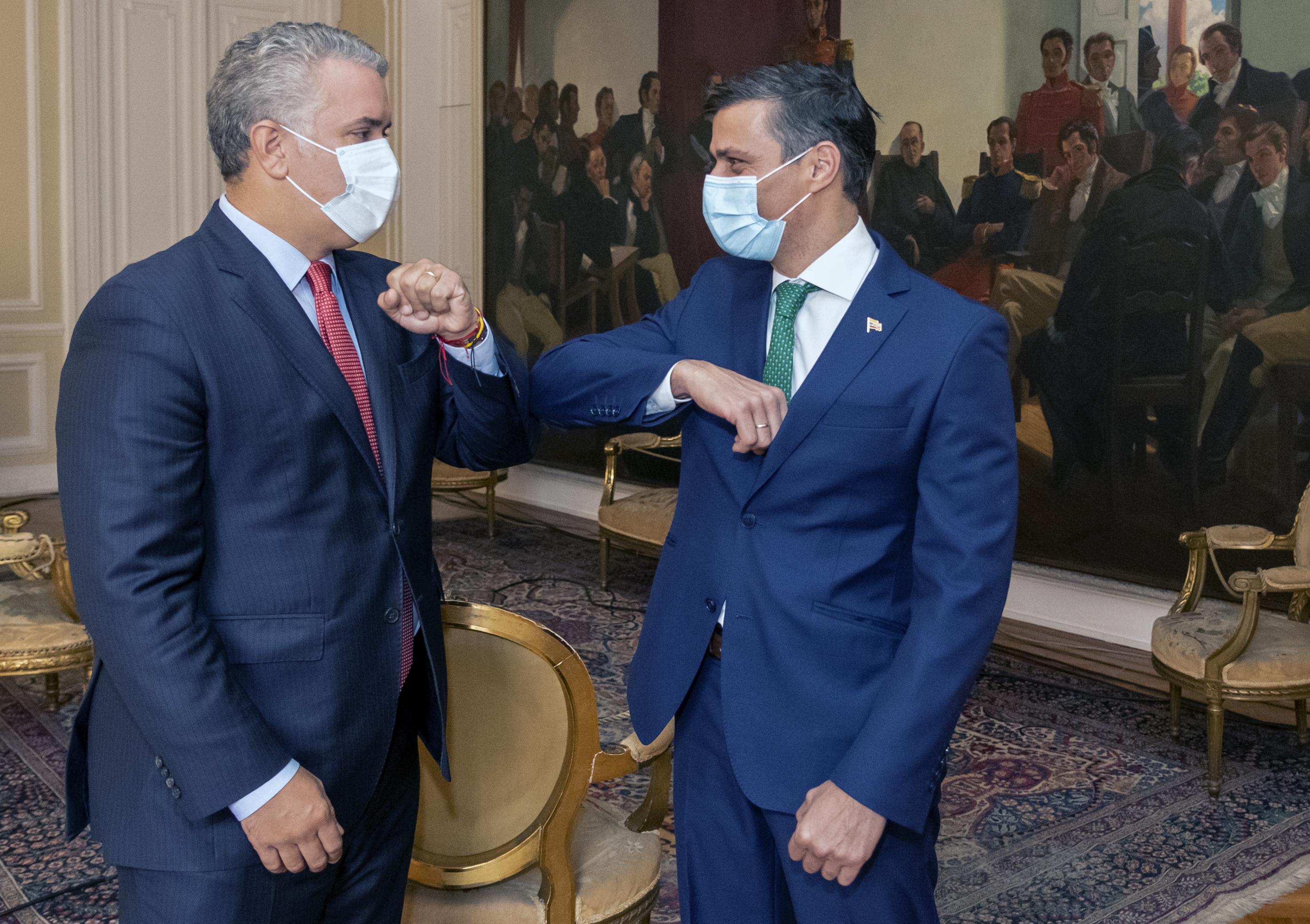 Por qué invitó Duque a Leopoldo López a su programa del coronavirus?