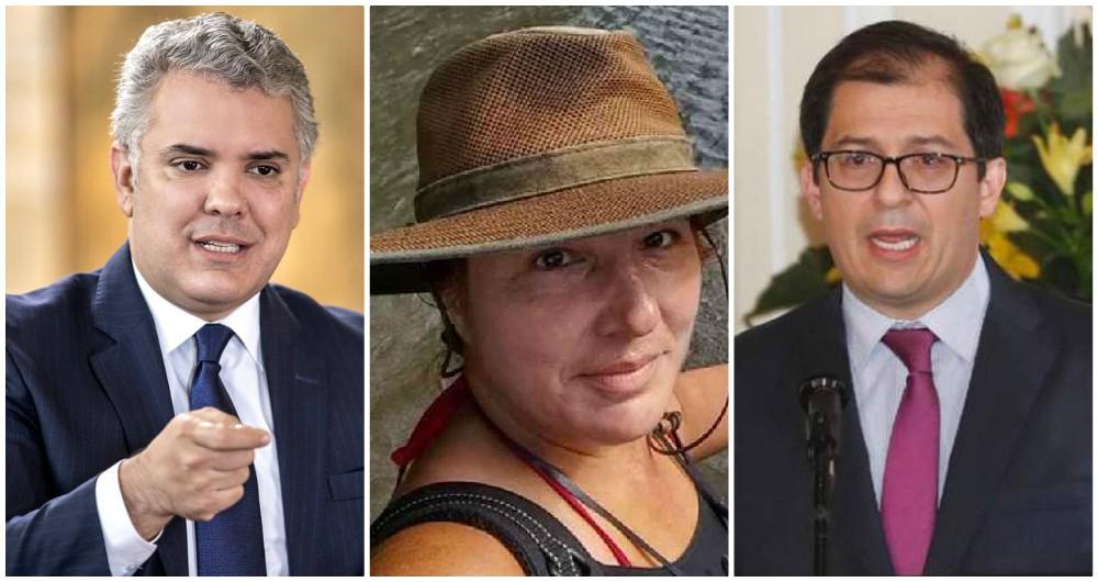 Presidente y fiscal confirman captura de asesino de Juana Perea, la  lideresa de Nuquí