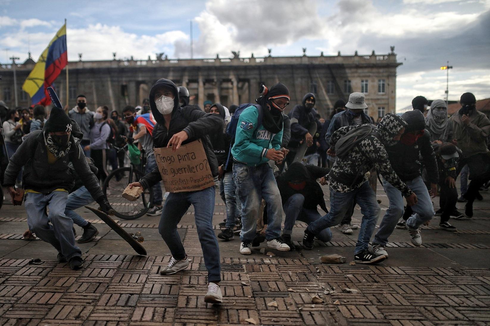 La protesta del 21S: una jornada pacífica con poco vandalismo