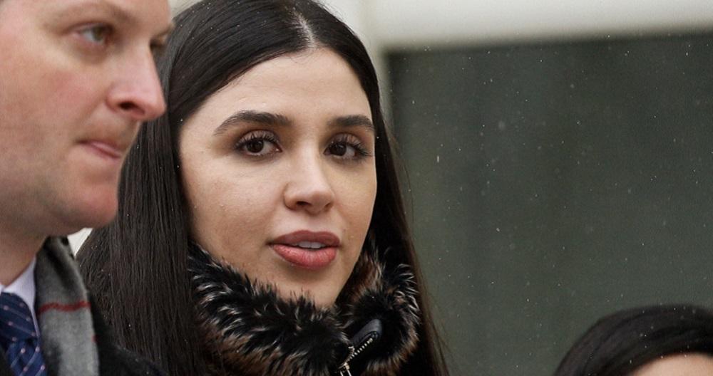 Emma Coronel: se revela la primera fotografía de la esposa del Chapo Guzmán  tras ser detenida en Estados Unidos