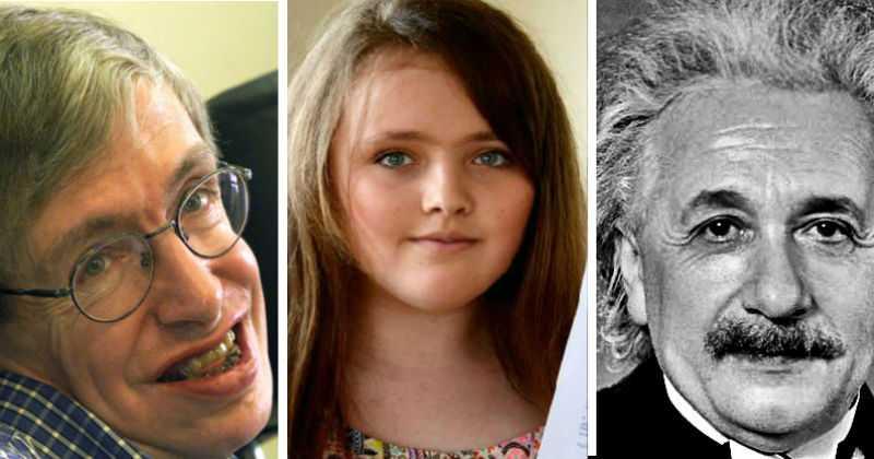 Niña De 12 Años Supera El Coeficiente Intelectual De Hawking Y Einstein
