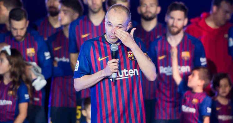 En video: La sentimental despedida de Andrés Iniesta del Barcelona