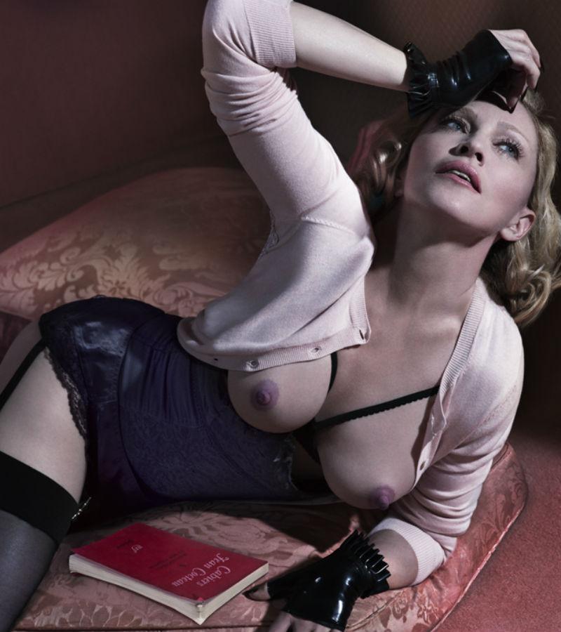Madonna se desnuda a los 56 años