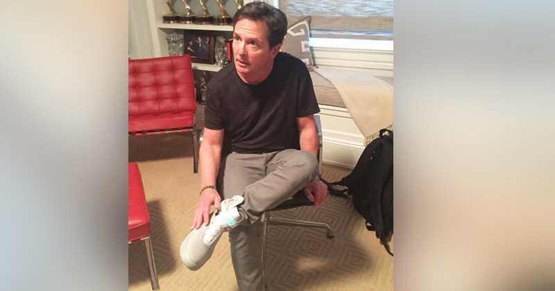 Marinero Presunto abajo  Nike cumple la profecía de 'Volver al futuro'