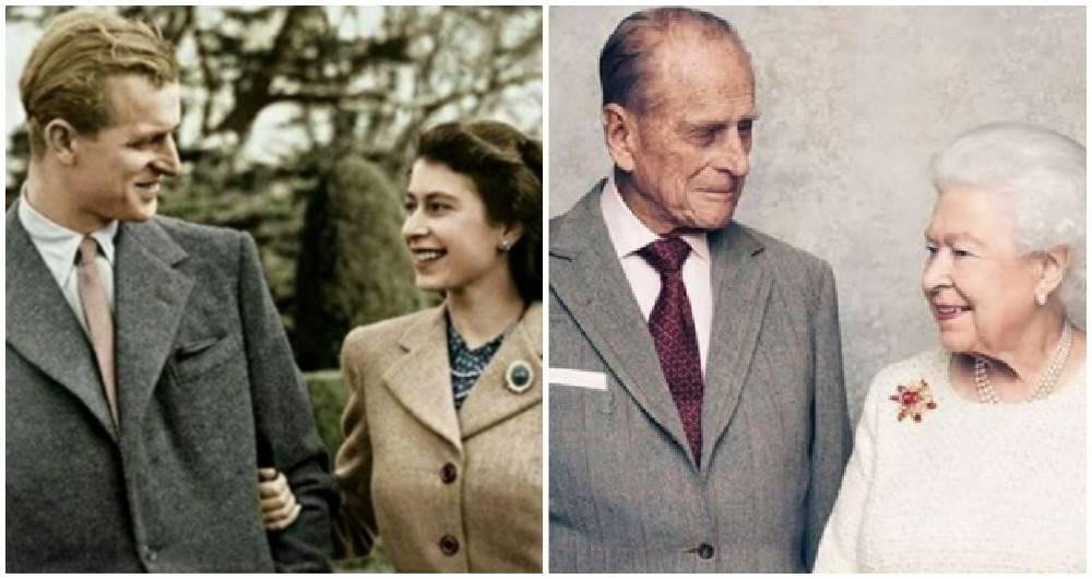 La Reina Isabel Ii Y El Príncipe Felipe Celebran Sus Bodas De Titanio