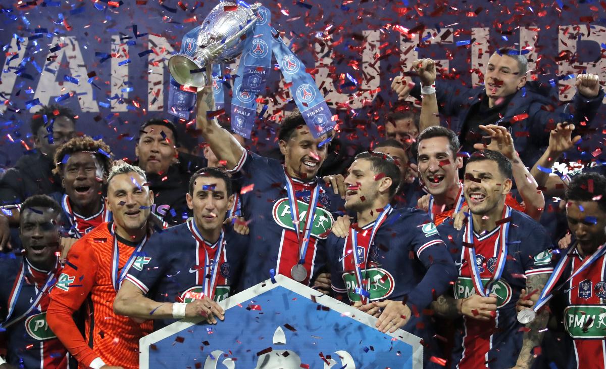 PSG es campeón en Francia tras vencer a Mónaco en la final de la Copa