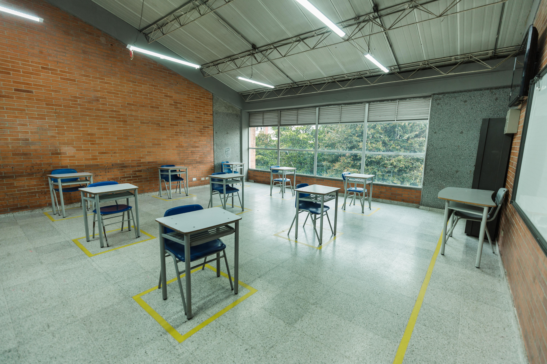 Colegio Enrique Olaya Herrera se prepara para regresar. Rectora Sandra Garrido
