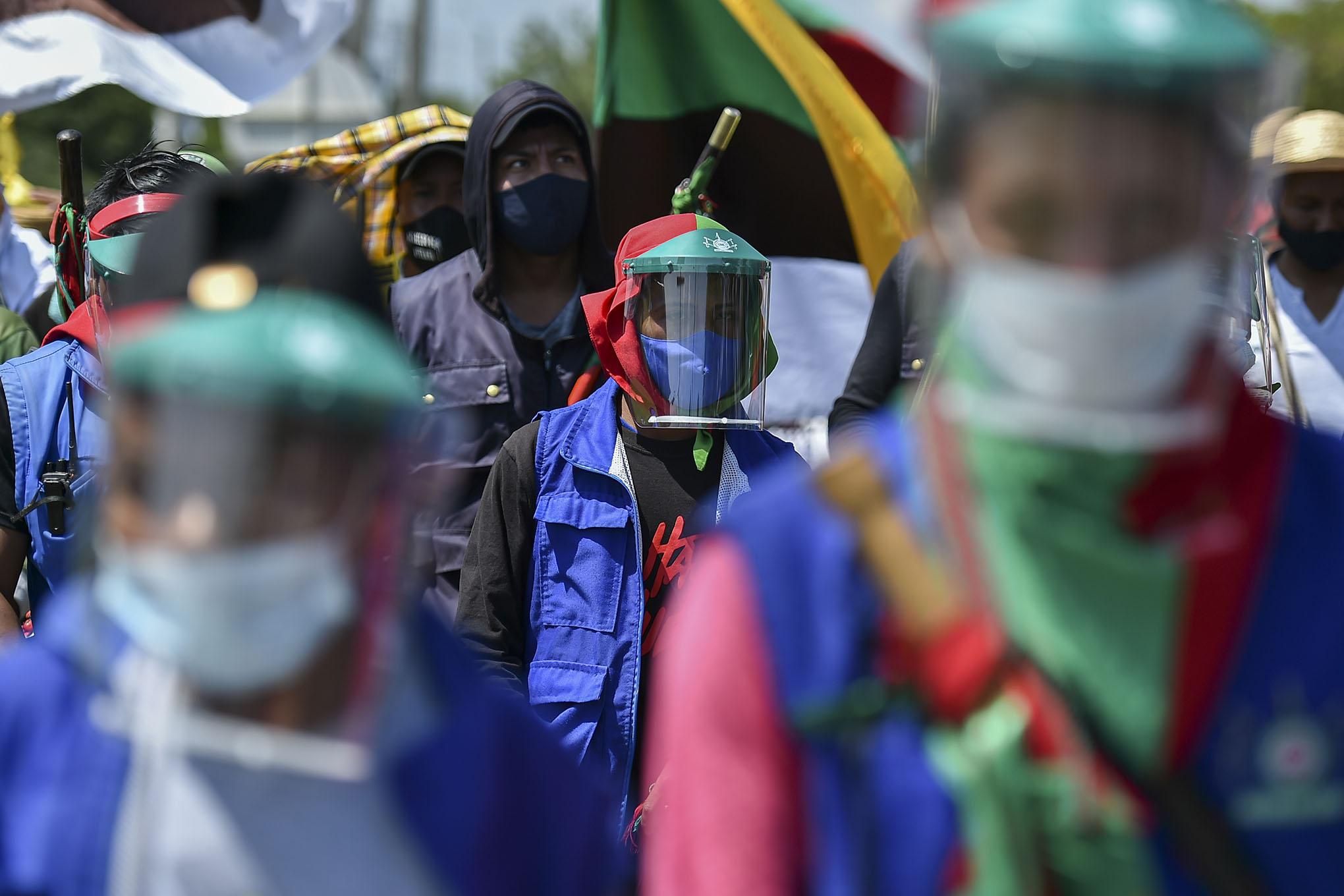 Así será el largo camino de la minga indígena para llegar a Bogotá