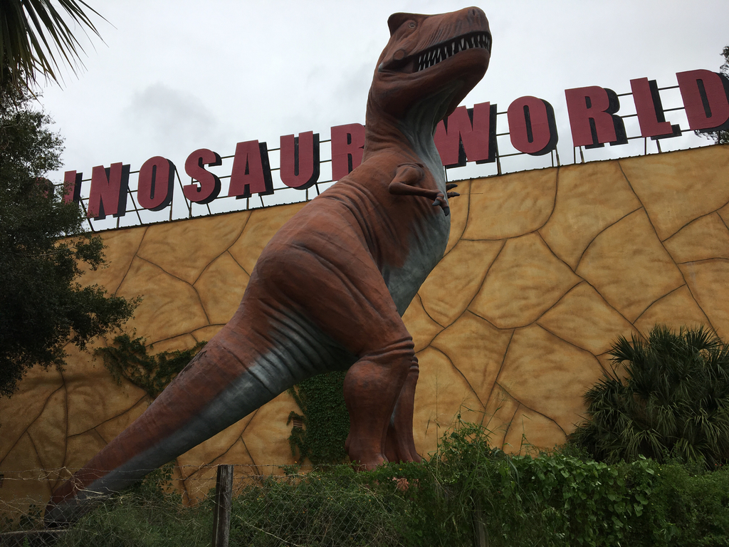 Dinosaur World in Plant City will reopen this week