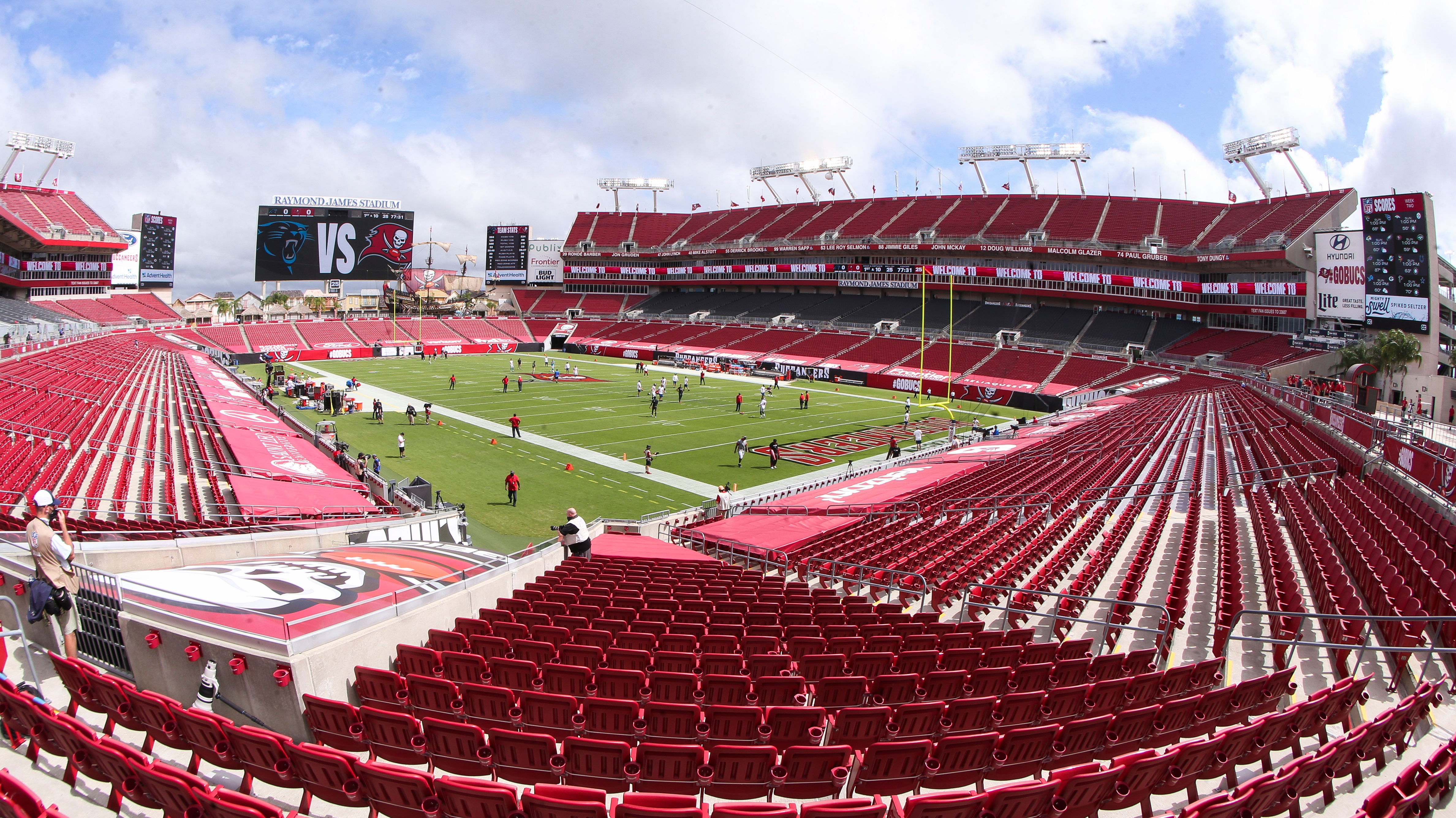 bucs will play in front of home crowd next week vs chargers crowd next week vs chargers