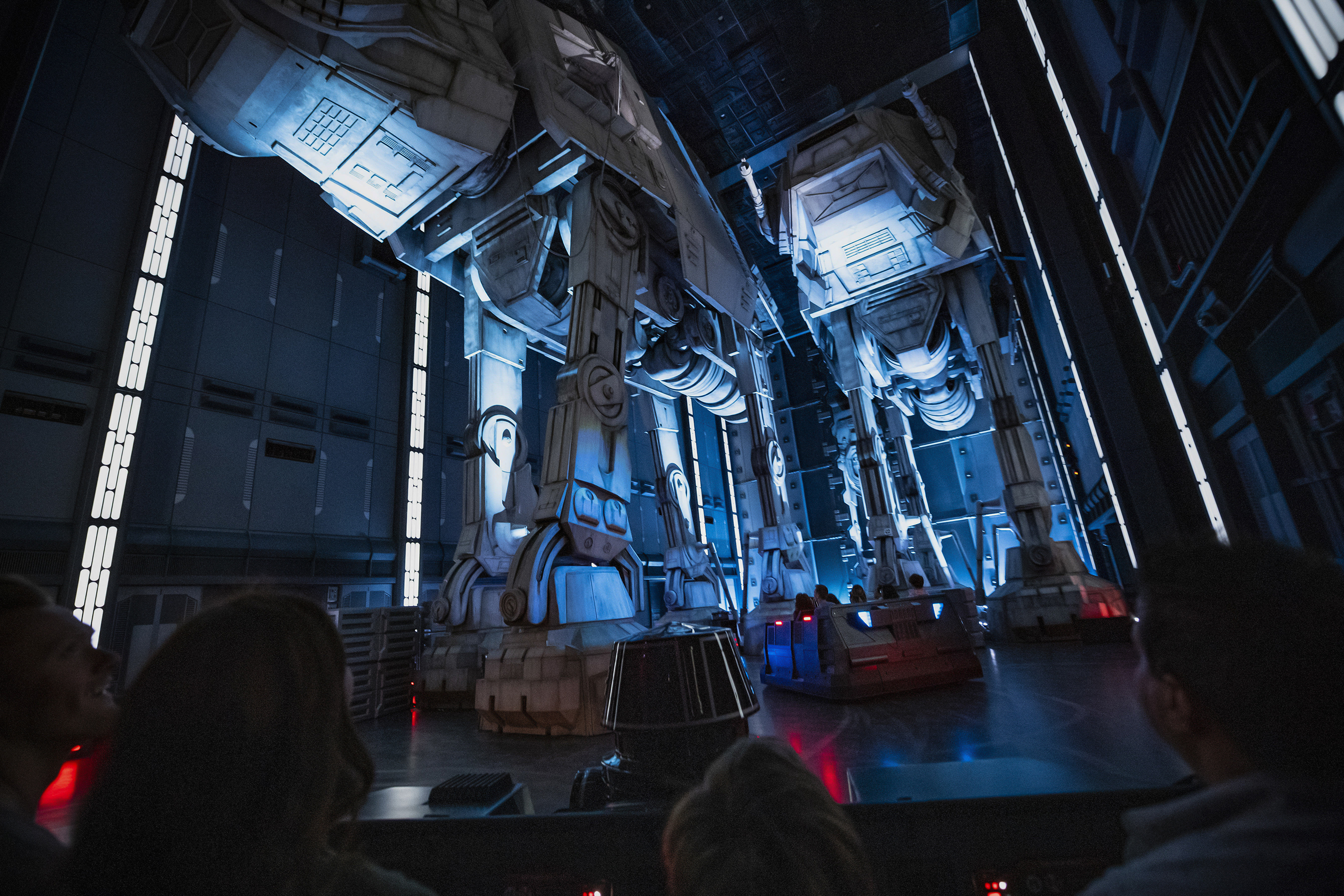 Disney Parks Star Wars Galaxy's Edge Rise Of The Resistance Ride Vehicle BLUE