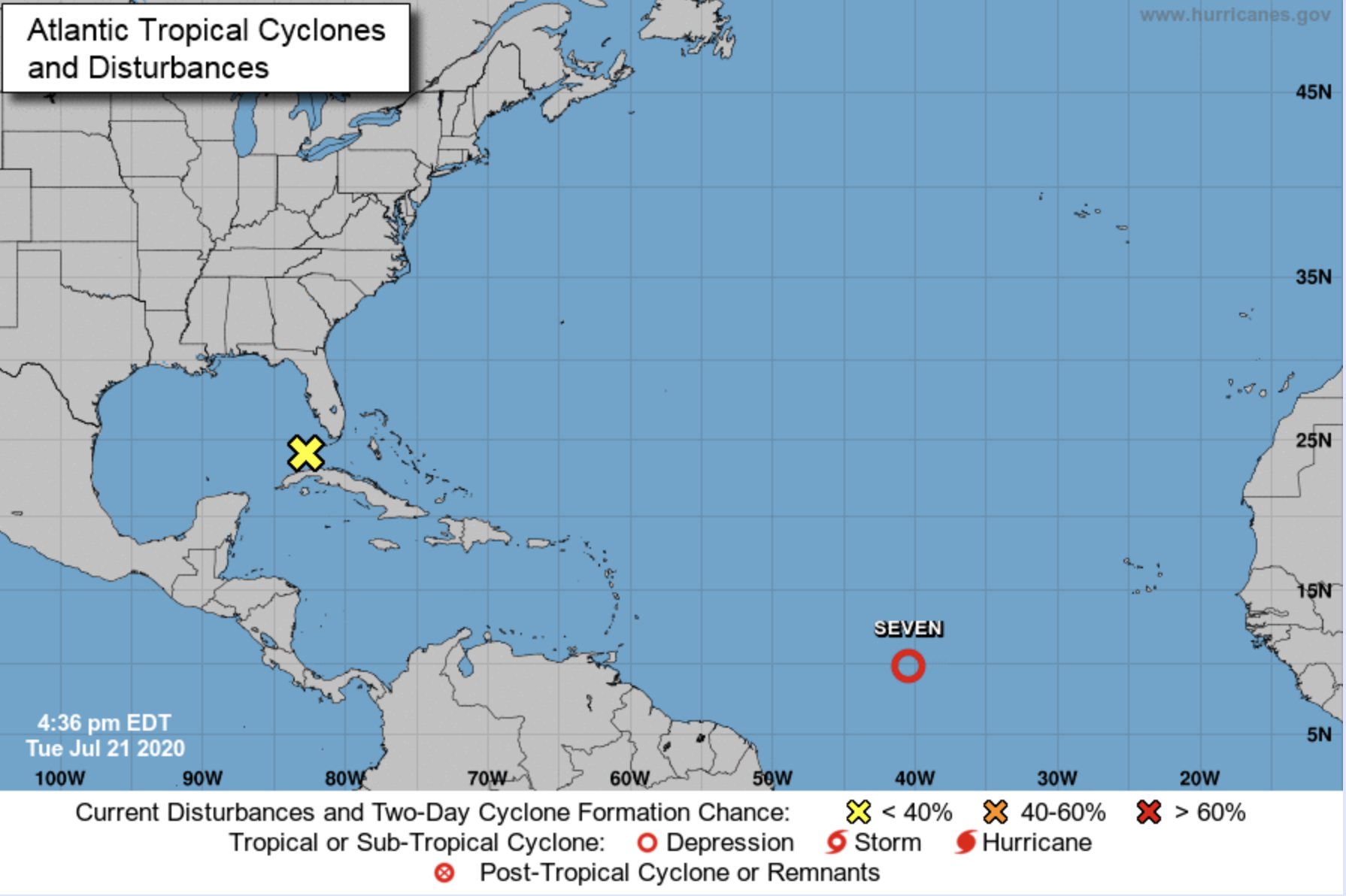 Tropical Storm Gonzalo Expected To Form In Atlantic