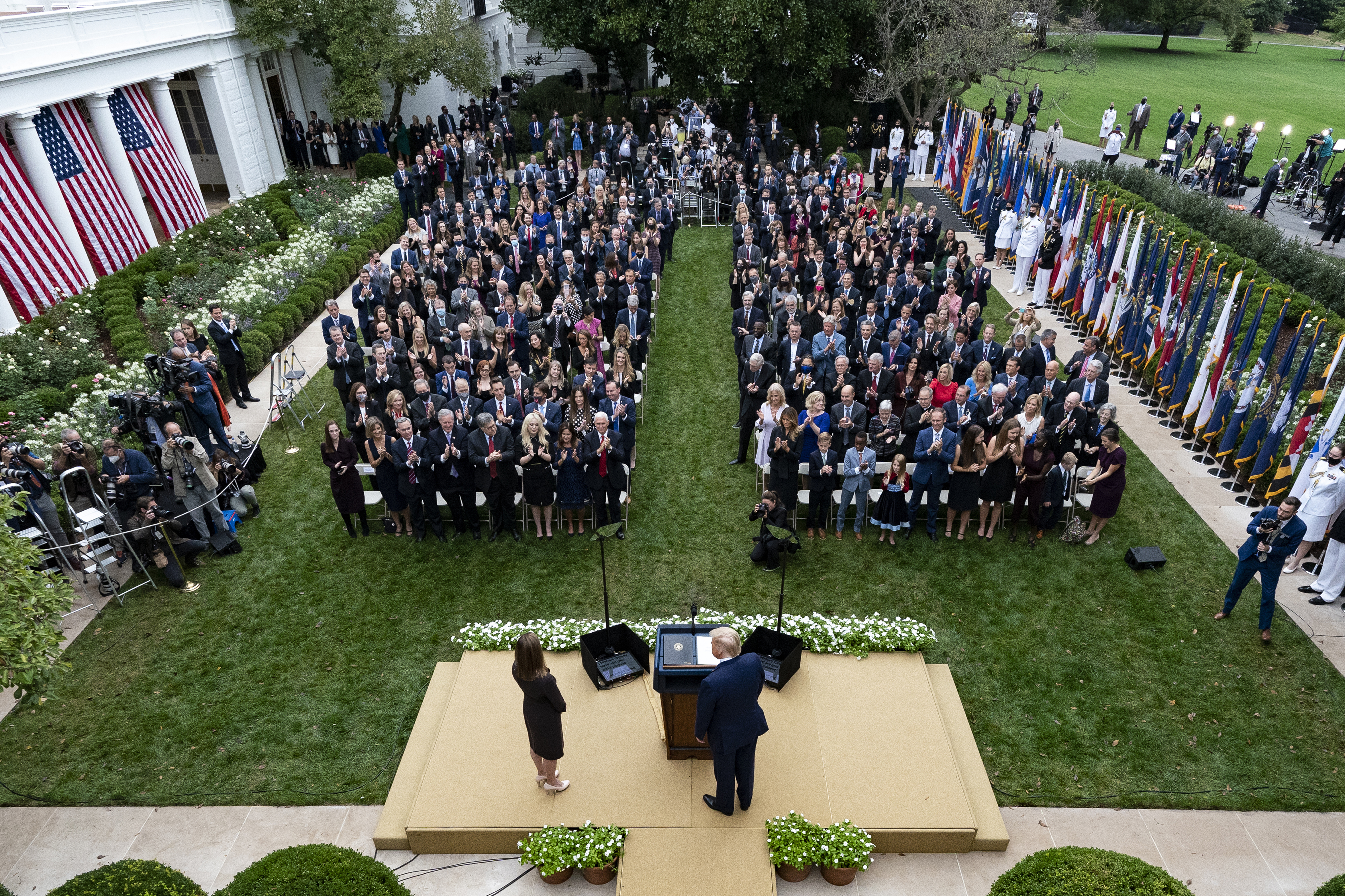 California Pastor Who Attended White House Rose Garden Event Says He Has Covid 19