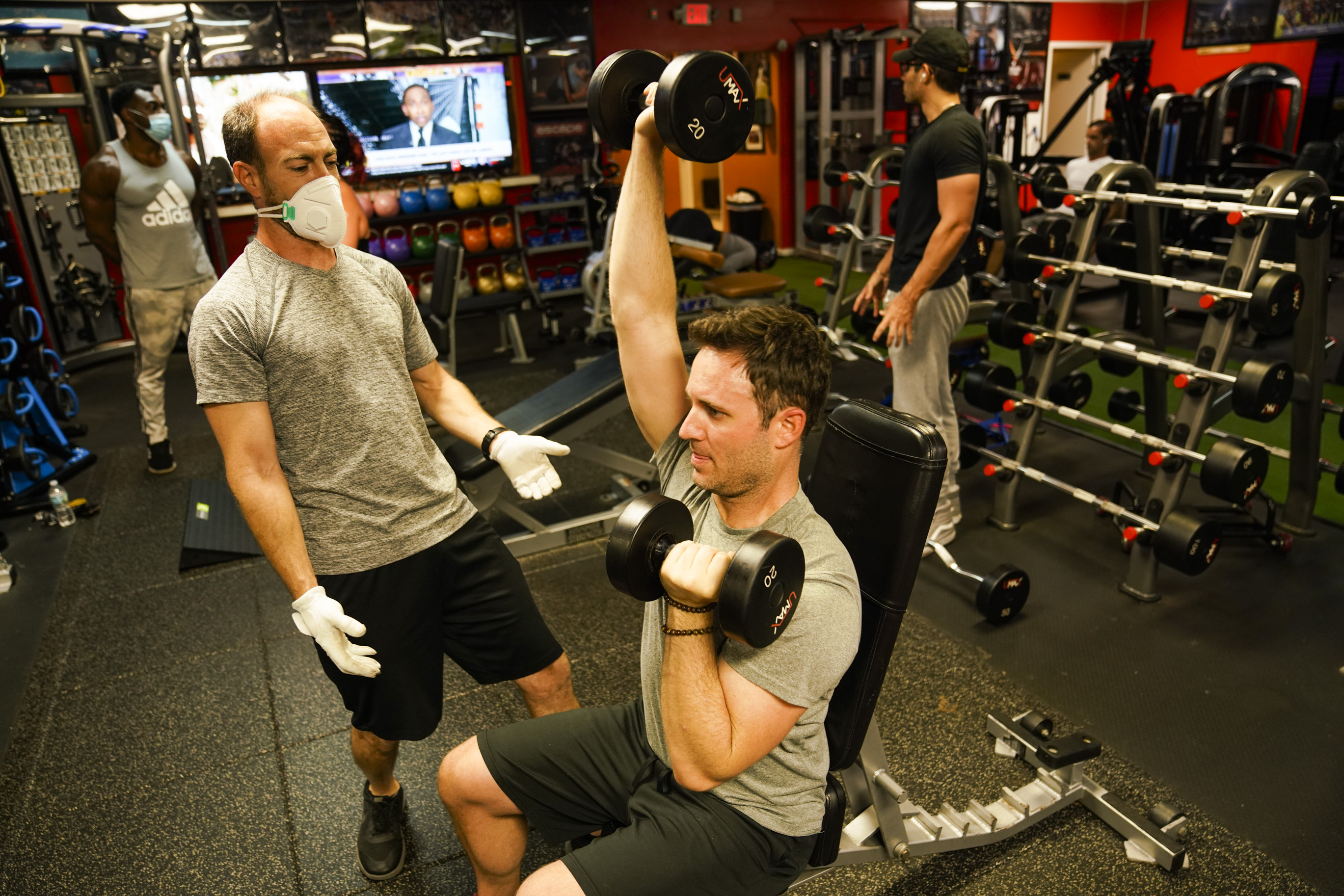 It felt good to be back': Tampa Bay gyms re-open