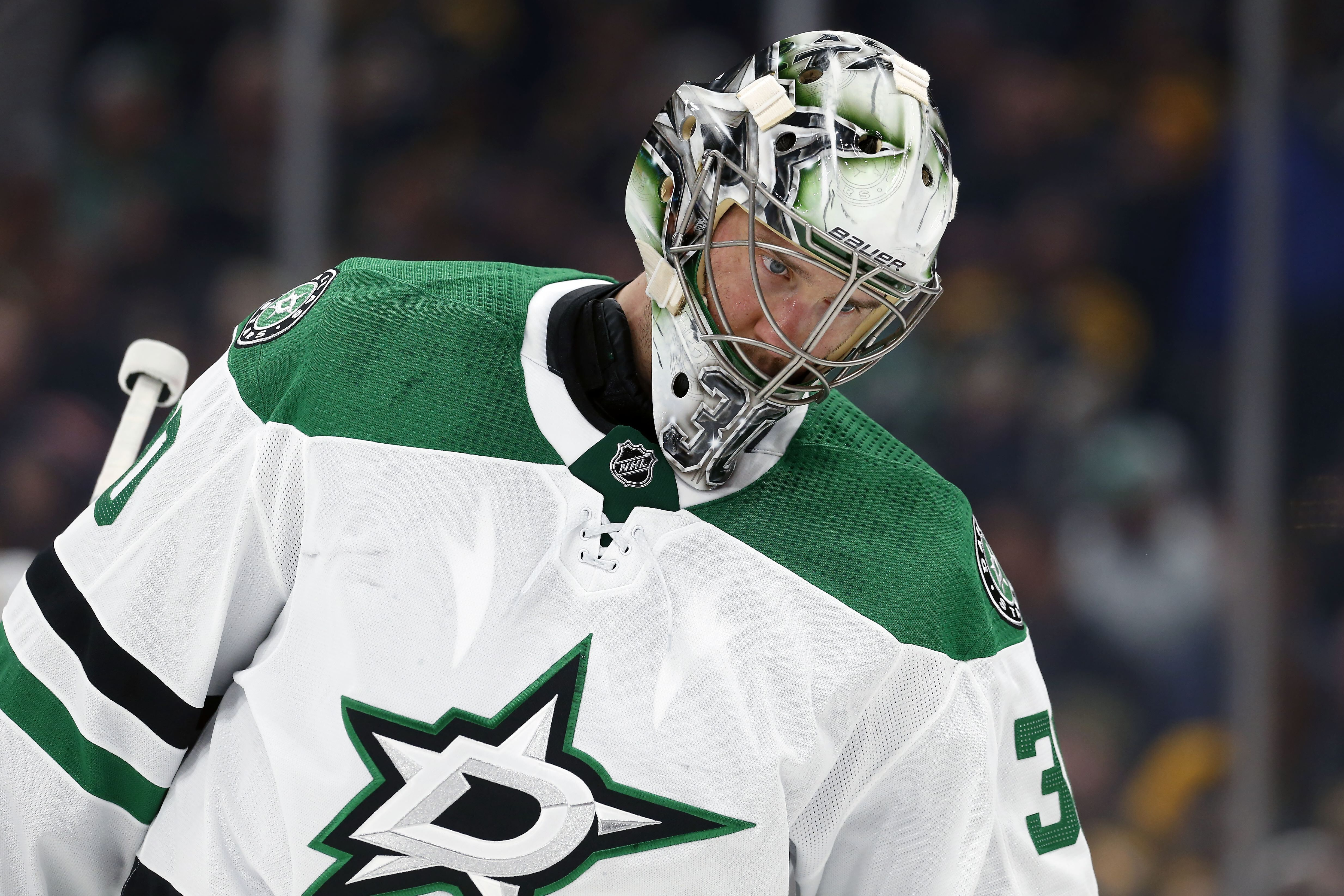 Former Lightning goalie Ben Bishop is on the Stars, but where is he?