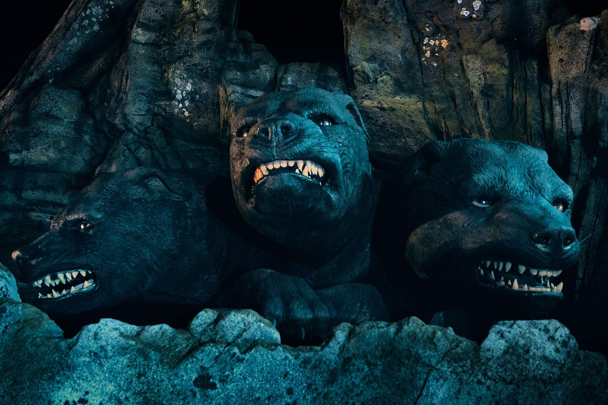First Look Hagrid Ride Brings Fluffy The Three Headed Dog To Universal Orlando