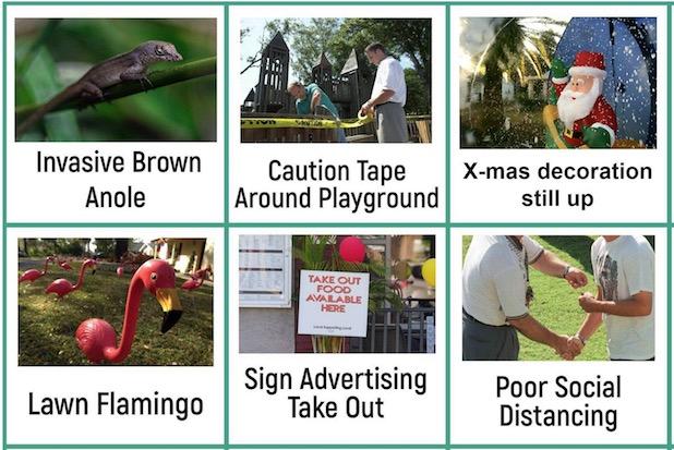 2020 Christmas Treasure Hunt Tampa Fl Bored? Try Florida social distancing neighborhood scavenger hunt bingo