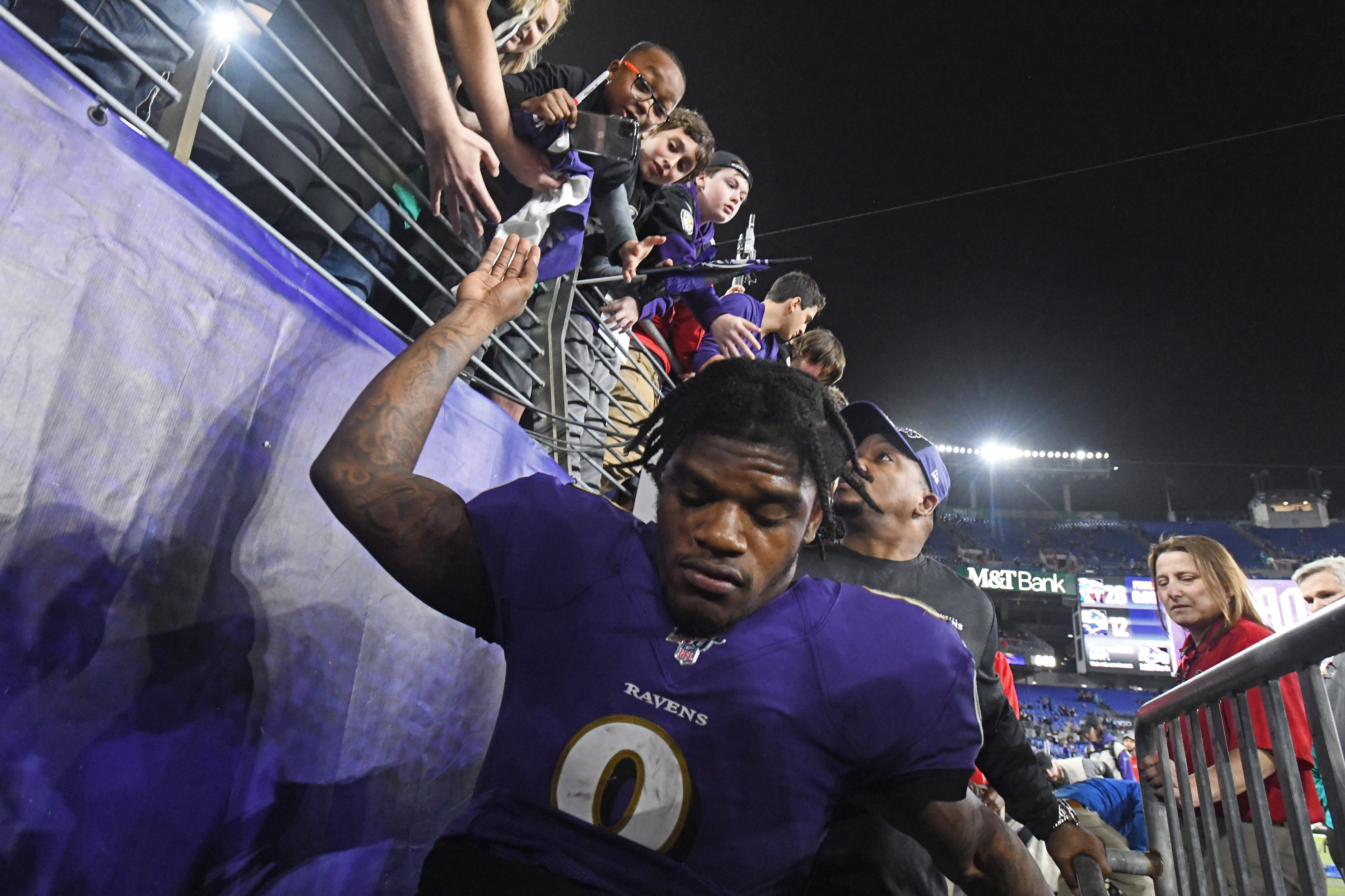 Preston The Titans Pushed The Ravens Around And Beat Them At Their Own Game Baltimore Sun