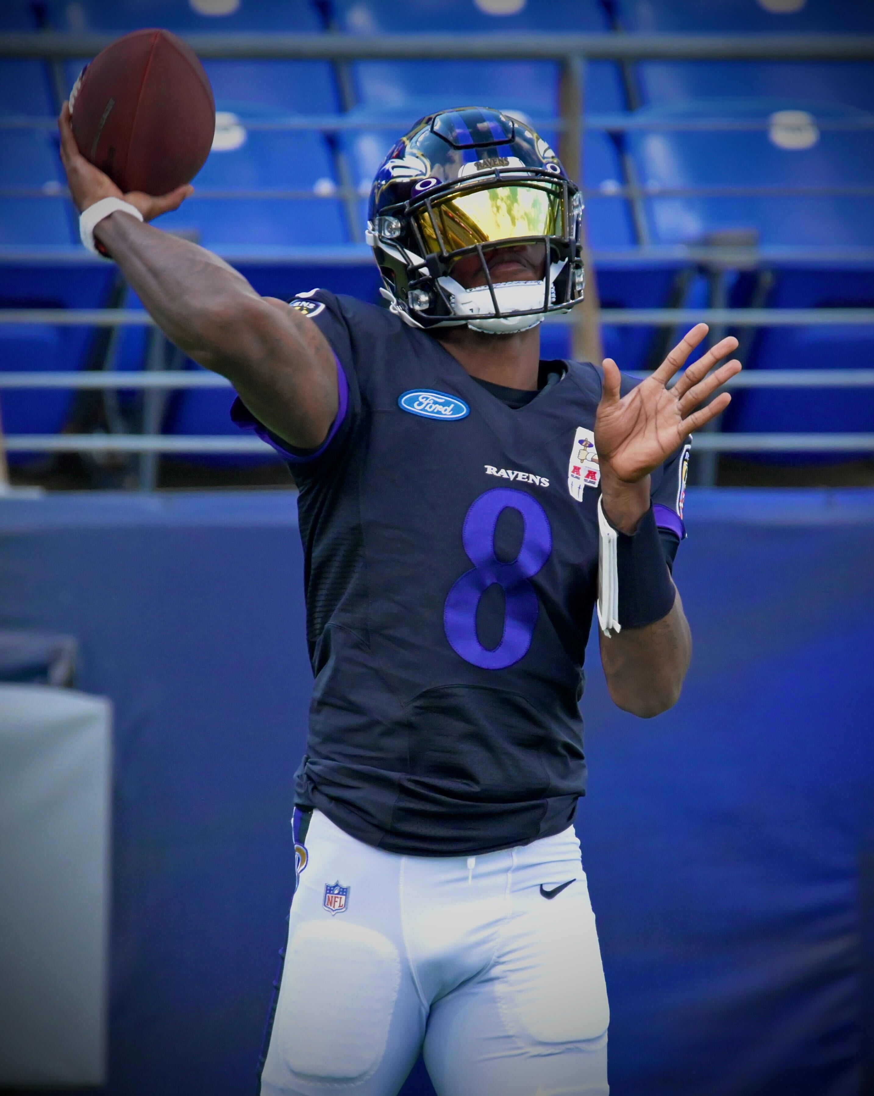 Observations from Ravens' stadium scrimmage: Lamar Jackson bounces ...