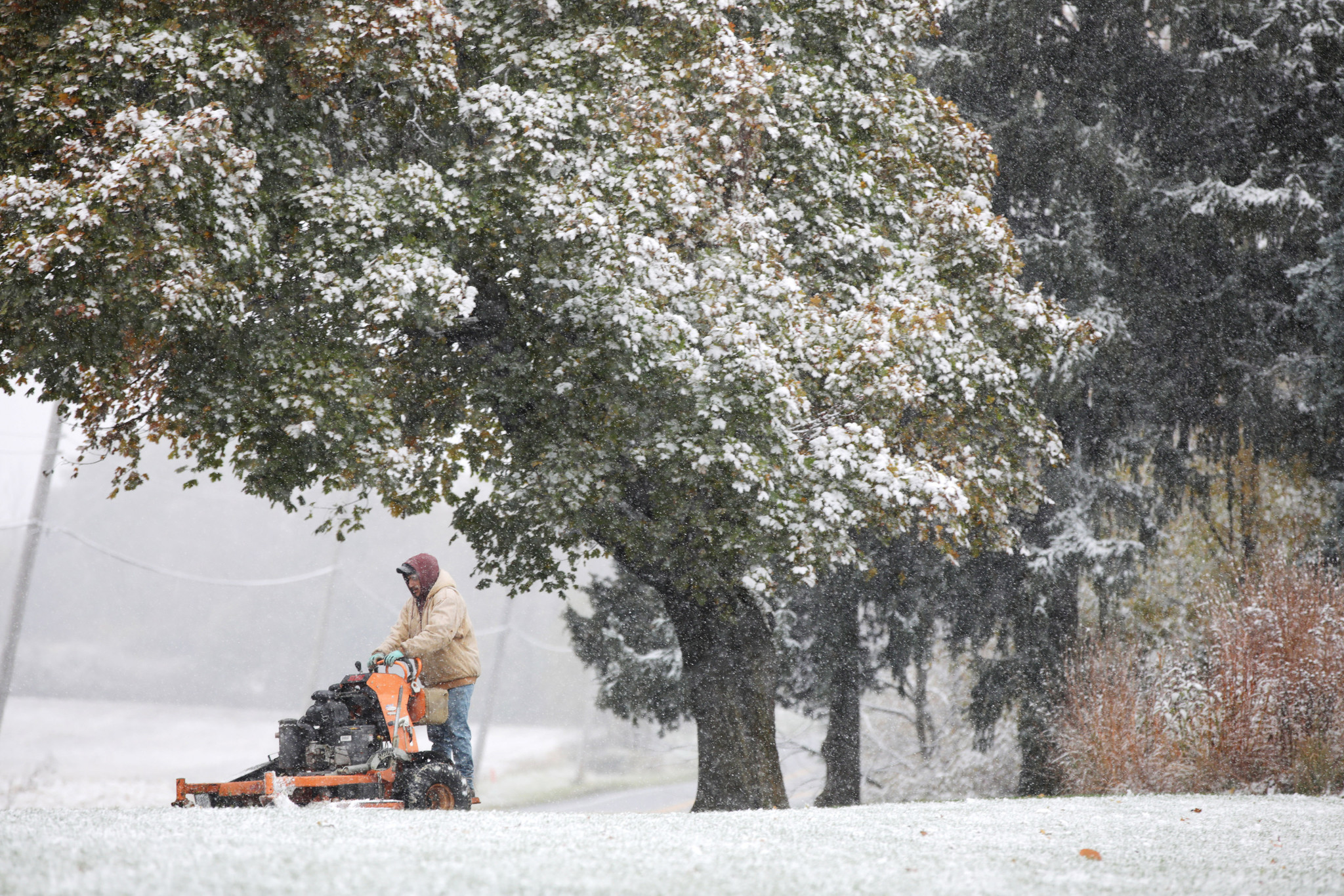 Halloween Temperatures 2020 Chicago First snow of season for Chicago, but warmer Halloween in store