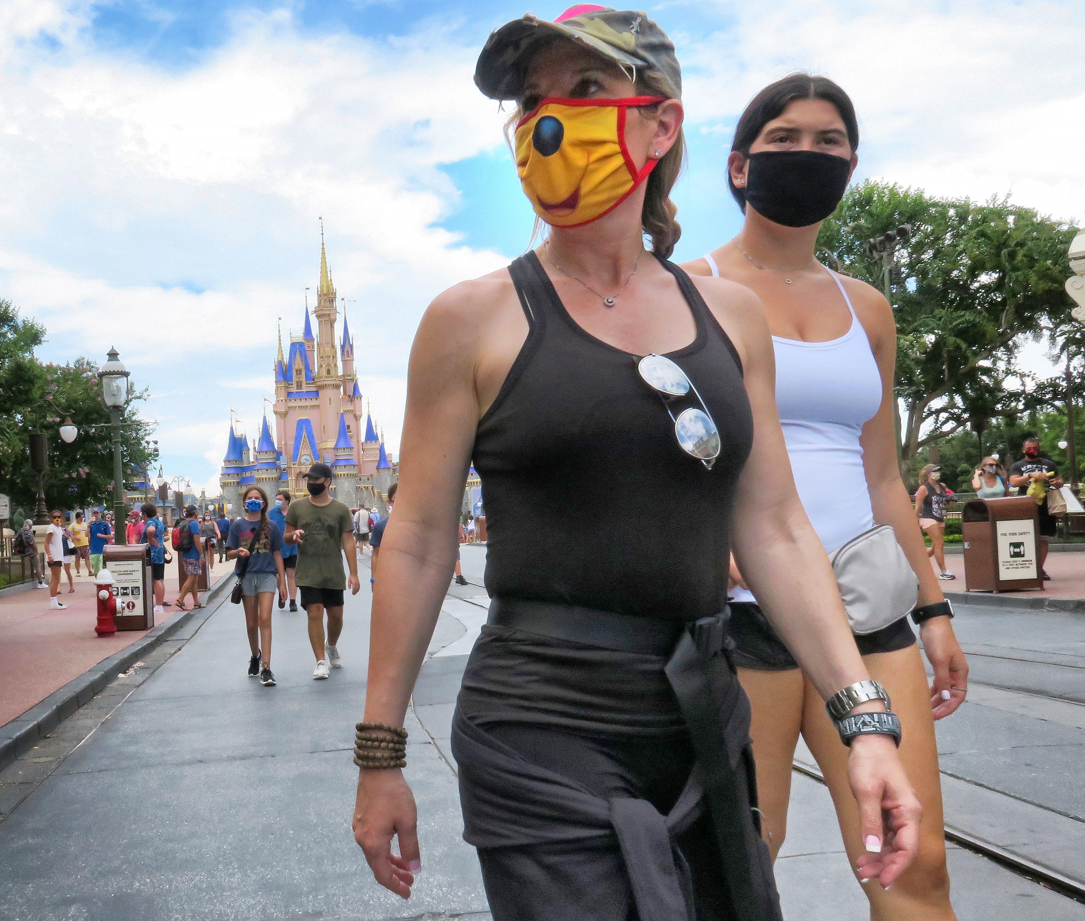 Disney World Reopens Amid Coronavirus Spike In Florida Orlando Sentinel