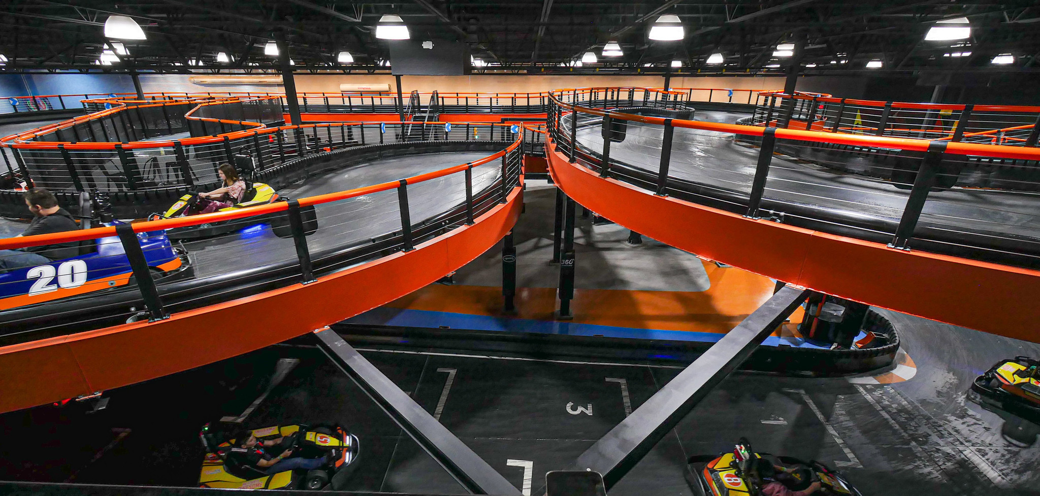Indoor Adventure Park With Go Karts Trampolines Climbing Walls And More Coming Soon To Former Bon Ton Site In Lehigh County The Morning Call